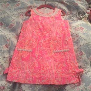 Girls Flamingo Dress